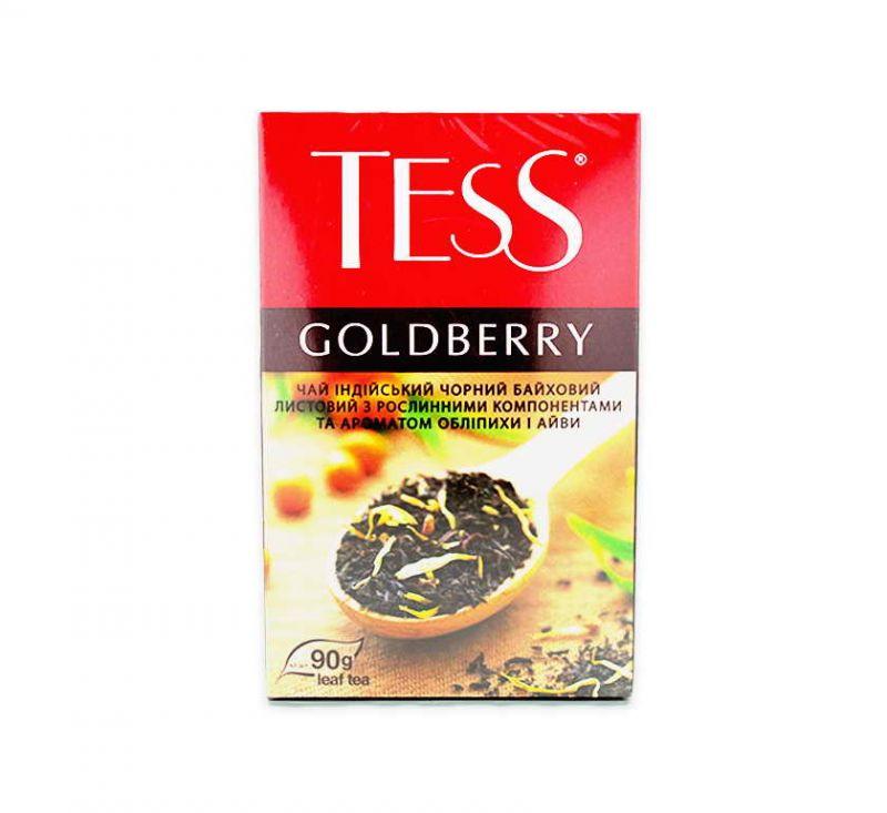 Чай Goldberry з ароматом обліпихи та айви 90 г TESS