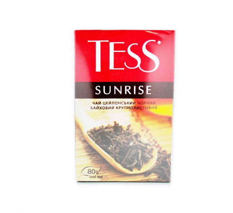 Чай Sunrise чорний крупнолистовий 80 г TESS