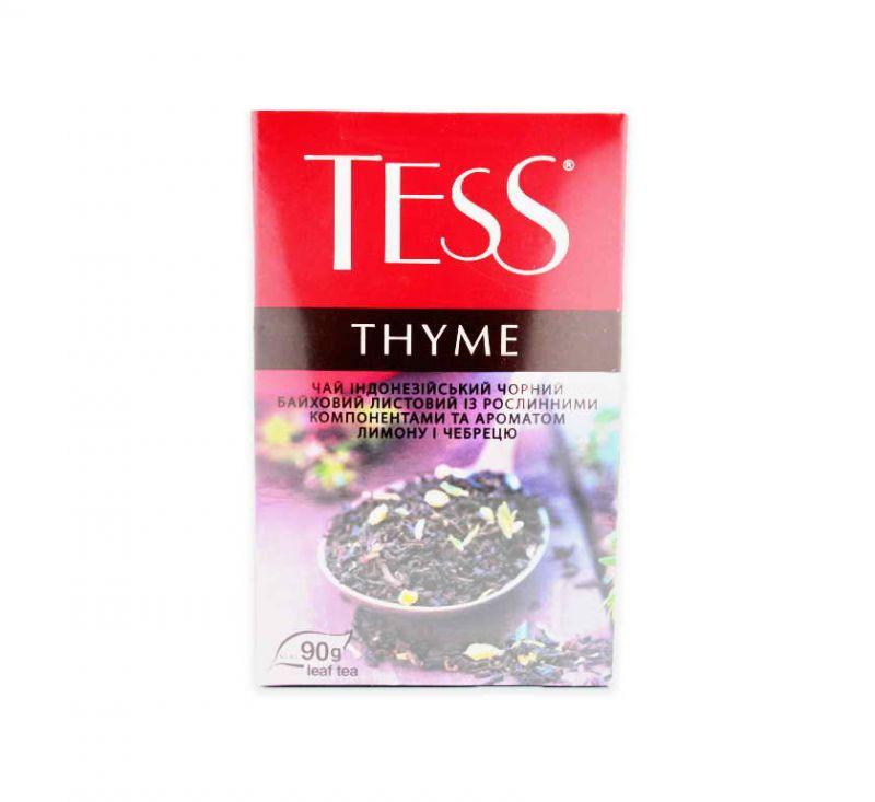 Чай Thyme з ароматом лимону та чебрецю 90 г TESS