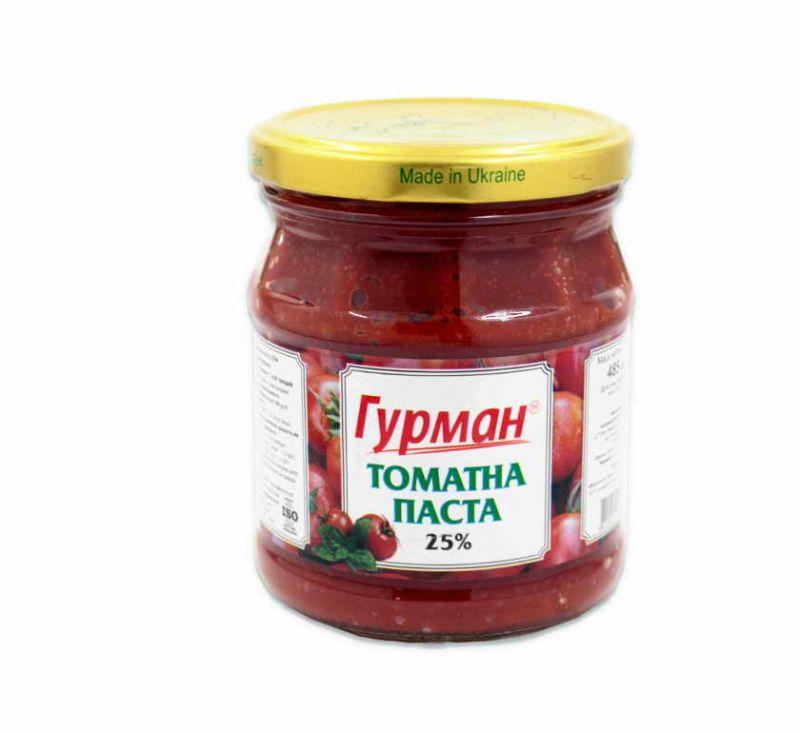 Паста томатна 485 мл Гурман