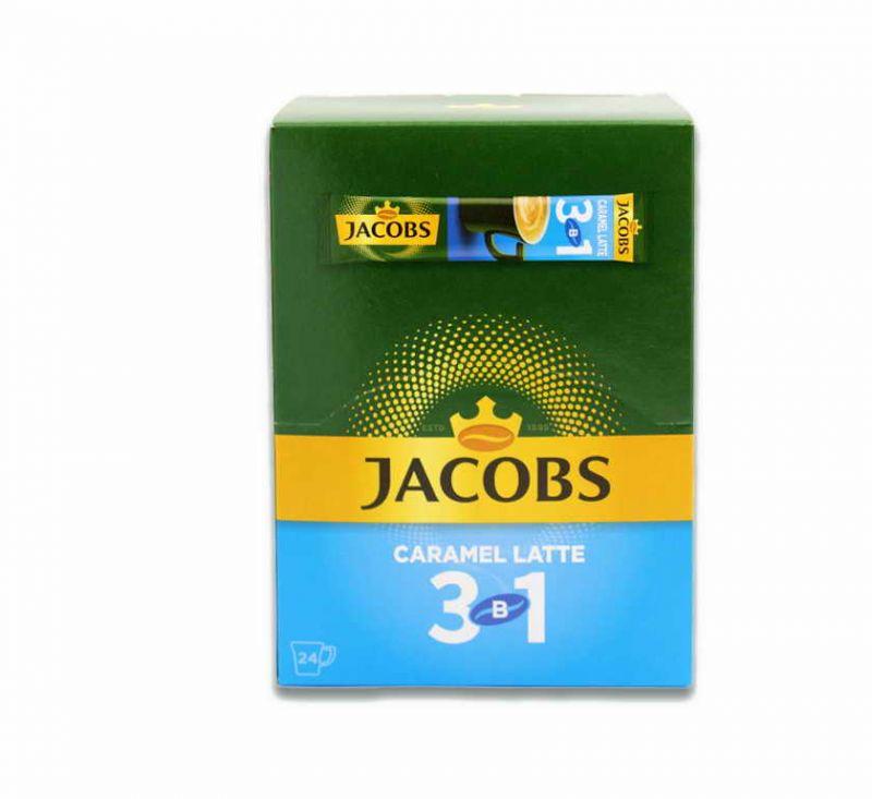 Напій кавовий розчинний 3 в 1 Карамель Лате 295 г Jacobs