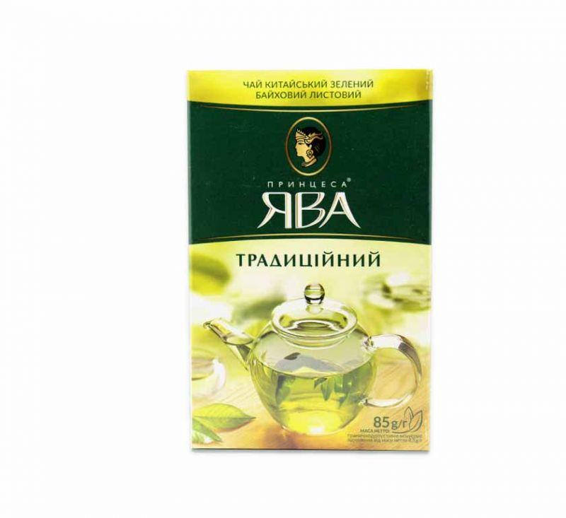 Чай зелений Традиційний 85 г Принцеса Ява